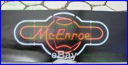 Vintage John McEnroe NIKE Poster with Brooklyn Bridge WTC Twin Towers NITF! NICE