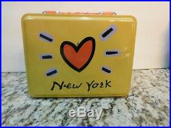 Vintage Rare Metal World Trade Center Twin Towers Lunchbox Unused Nos Exclusive