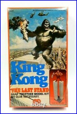 Vintage Sealed Box Mego King Kong The Last Stand World Trade Center Model