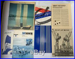 Vintage World Trade Center Lot Brochure Newspaper Development Construction 1970s