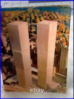 Vintage World Trade Center Postcard 3-D Photograph Xograph Mint