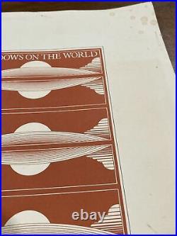 Vintagr Windows On The World The Restaurant paper Menu World Trade Center