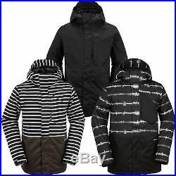 Volcom Retrospec Insulated Jacket Herren-Snowboardjacke Skijacke Winterjacke NEU