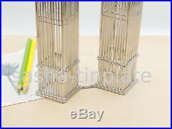 WORLD TRADE CENTER TWIN TOWERS Doodles Destinations wire model