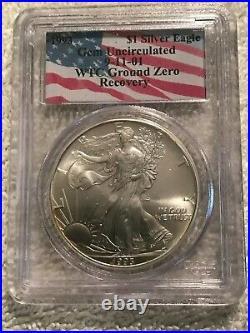WTC Ground Zero Complete 6 Coin Silver Eagle Set 1987-1989-1991-1993-2000-2001