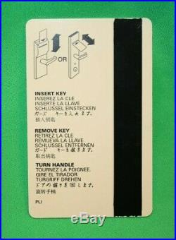 WTC New York City Marriott Hotel World Trade Center Access Room Key Card