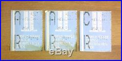 WTC Three Tickets WORLD TRADE CENTER observation deck May 1st 1992 memorabilia