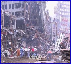 WTC World Trade Center 9/11 artifact, explosion, debris, building