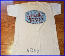 WTC World Trade Center ORIGINAL view from the top t-shirt 1979, rare historical