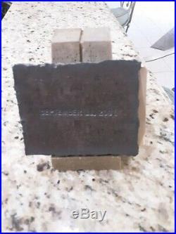 WTC World Trade Center Recovery 9/11 Piece Steel Ground Zero