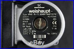 Weishaupt / Grundfos Heizungspumpe Pumpe WTC 15 25 UPM2 15-70 GGMBP 48101140122