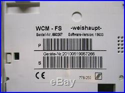 Weishaupt, WTC-OW15-A, Regelung, Heizungsregelung, WCM-FS, 660267, Steuerung