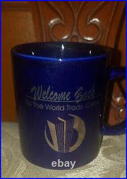 Welcome Back to the World Trade Center Coffee Cup, 1993