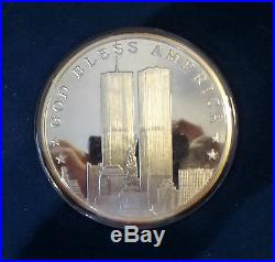 World Trade Center 9/11 # 52 Silver Commemorative Complete 5 Coin Set 2001 NO/RS