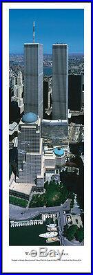 World Trade Center City Skyline Picture Framed Panorama