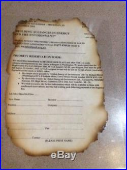 World Trade Center Documents From 9/11 Attack