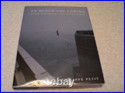World Trade Center Hi-Wire Walk PHILIPPE PETIT First Edition SIGNED