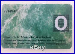 World Trade Center ID Credit Suisse Letter Envelope NY Institute Of Finance 17FL