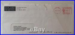 World Trade Center ID Credit Suisse Letter Envelope NY Institute Of Finance 17FL