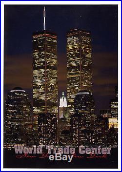 World Trade Center Postcard, Postmarked 9/11/01