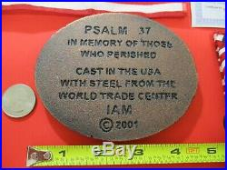 World Trade Center Steel Commemorative Paperweight Made From Steel at WTC