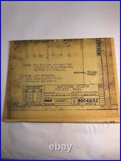World Trade Center Transmission Tower RCA 1970 Bid Proposal Binder and Specifica