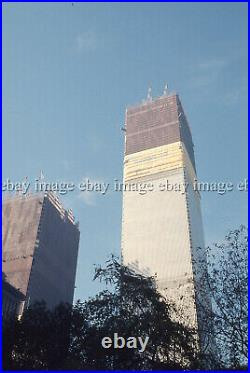 World Trade Center Twin Towers Construction (7) VTG 35mm Slides Lot Photos 70-72
