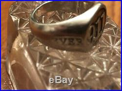 World Trade Center Twin Towers Sterling Silver Ring