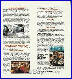 World Trade Center Twin Towers WTC Brochure New York City NYC Great condition
