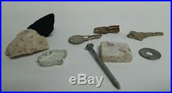World Trade Center WTC 9/11 Recovered Concrete Keys Screw Washer Tile Glass