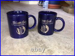 World Trade Center Welcome Back 1993 Bombing Mugs (2 items) Mint Condition