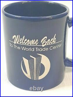 World Trade Center Welcome Back coffee mug 1993 excellent condition see pics
