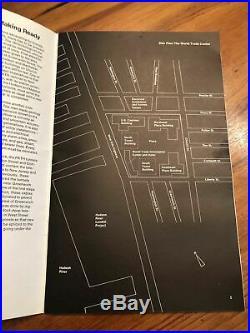 World Trade Center twin towers SIGNED BY MINORU YAMASAKI! RARE FIND
