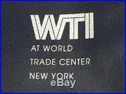 World Trade Institute Original Pre 9/11 World Trade Center Document Holder