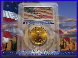 Wtc 1998 Pcgs Gem Unc Ground Zero Recovery $25 Dollar Gold Eagle Population 3