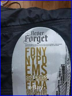 Zoo York 9/11 World Trade Centre Twin Towers tribute skateboard deck. 1/500